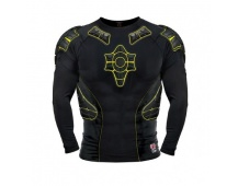 G-Form PRO-X LS Compression Shirt-black/yellow-black Therm