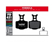 GALFER destičky FORMULA FD451 standart
