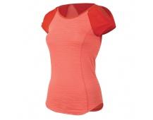 PEARL iZUMi W FLASH dres s krátkym rukávem, korálová/oranžová, M