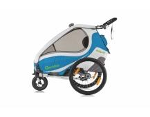 QERIDOO KidGoo 1 vozík - blue