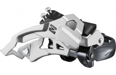 SHIMANO přesmykač ALIVIO FD-M4000 MTB pro 3x9 obj. 34,9/31,8 + 28,6 Top-swing dual pull 40 z