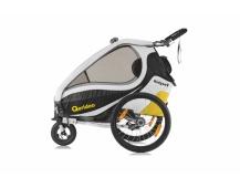 QERIDOO KidGoo 2 vozík - yellow