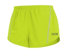 GORE R5 Split Shorts-citrus green