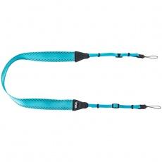 EVOC foto popruh - CAMERA SHOULDER STRAP LITE, neon blue