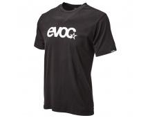 EVOC triko - T-SHIRT LOGO MEN, black