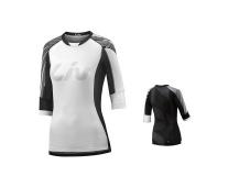 LIV Tangle 3/4 L Off-road Jersey-white/black