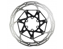00.5018.037.019 - SRAM ROTOR CNTRLN 2P 160MM BLACK TI ROUNDED