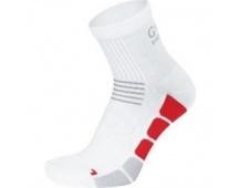 GORE Speed Socks MID-white/red