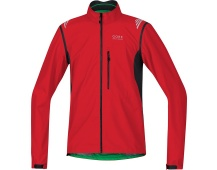 GORE Element WS Active Shell Zip-Off Jacket-red/black