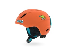 GIRO Launch Mat Deep Orange Dino XS