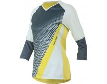 PEARL iZUMi W LAUNCH 3/4 SLEEVE dres, SKYLIGHT / modrá STEEL FRACTURE, M