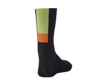 GIRO ponožky HRC Team-black/bright lime-M