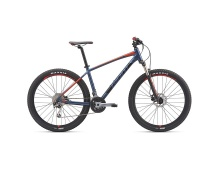 GIANT Talon 2 GE 2019 grey blue/charcoal/neon red