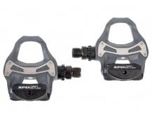 Pedály silniční Shimano SPD SL PD-R550 šedé + zaražky