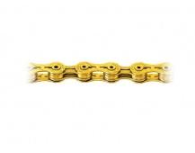 Řetěz KMC X9 SL 9 kol ,zlatý