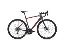 GIANT Defy Advanced 1 2020 charcoal/pure red