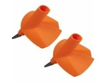 EXEL Avenger basket 10 mm max 45 mm ORANGE, náhradní košíčky