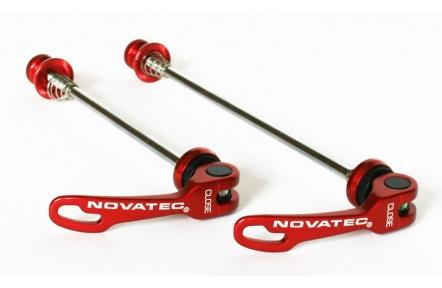Sada Rychloupínacích osek Novatec QR249 F+R červené