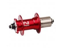 Náboj Novatec D032SB, zadní, 32-děr, červený (N-logo)