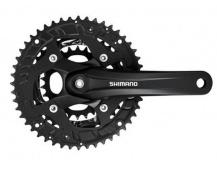 Kliky MTB Shimano Alivio FC-T4010 175mm 44x32x22 pro 9kolo ,Octalink, barva šerná