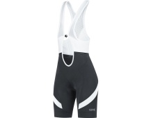 GORE C5 Women Bib Shorts+-black/white