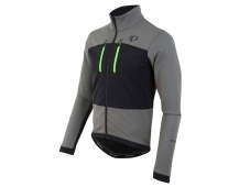 PEARL iZUMi ELITE ESCAPE SOFTSHELL bunda, SMOKED PEARL/černá