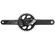 00.6118.527.004 - SRAM AM FC X01 EAGLE DUB 175 BLK DM 32T