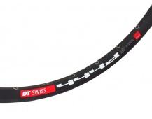 """Ráfek MTB 26"""" DT Swiss 444D Disc 32 děr barva černá"""