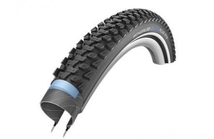 Schwalbe plášť Marathon Plus MTB 27.5x2.1 SmartGuard černá+reflexní pruh