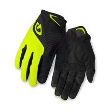 GIRO rukavice BRAVO LF-black/highlight yellow