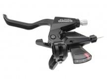 SHIMANO řad/brzd. páka ALTUS ST-M310 MTB/trek pro V-brzdy pravá 8 rychl 2 prstá černá