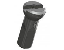 Sapim nipl Alu polyax 12mm černý zámek secure lock