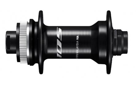 SHIMANO nába přední 105 HB-R7070 pro kotouč (centerlock) 32 děr pro E-thru 12 mm černá bal
