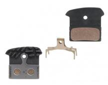 Brzdové destičky Shimano XTR BR-M985 F03C kovové včetně chladiče pro brzdy Shimano BR-M985,988 +pružinky