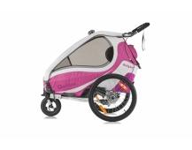 QERIDOO KidGoo 1 Sport vozík - pink