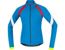 GORE Power 2.0 Thermo Lady Jersey-waterfall blue/rich red