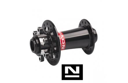 Náboj Novatec D791SB-15, přední, 32-děr, černý  (N-logo)