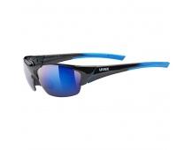 20 UVEX BRÝLE BLAZE III, BLACK BLUE/MIRROR BLUE (2416)