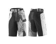 LIV Tangle Baggy Shorts-black/white