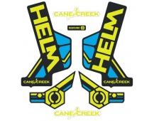 Sada polepů Cane Creek HELM - žlutá/modrá