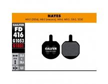 GALFER destičky HAYES FD416 standart
