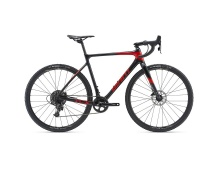 GIANT TCX Advanced 2019 gun metal black/pure red/black