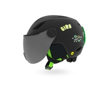 GIRO Buzz MIPS Mat Black/Bright Green Alien XS