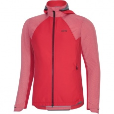 GORE C5 Women GTX Infinium Hybrid Hooded Jacket-hibiscus pink