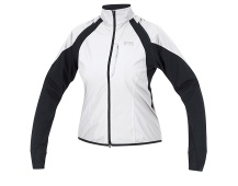 GORE Alp X II WS Zip-off Lady Jacket-white/black