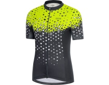 GORE C3 Women Jersey-black/citrus green