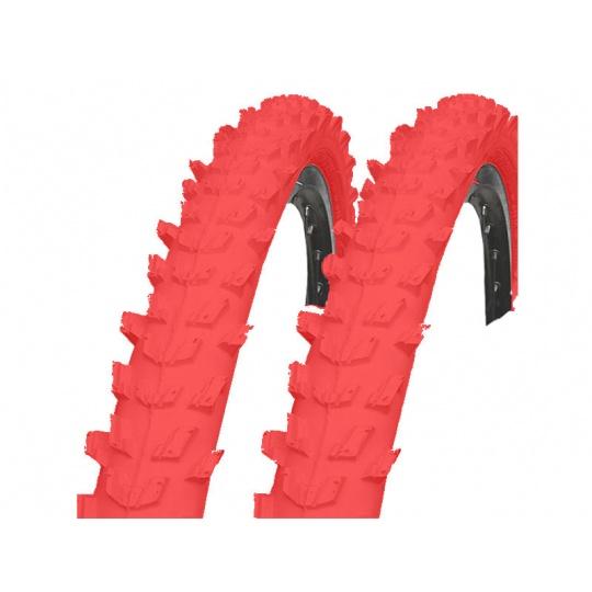 Plášť MTB Kenda K829 26x1,95 červený
