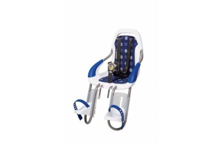 Polstrování pro přední cyklosedačku qibbel modré květy Q513