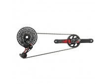 00.7918.074.001 - SRAM AM X01 EAGLE DUB 175 GROUPSET RED