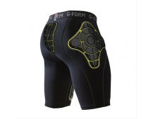 G-Form PRO-T Team Compression Shorts-black/yellow